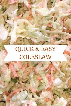 Easy coleslaw recipe perfect as a side or on a sandwich,Food Heaven! Simple coleslaw recipe Like: (Visited 3 times, 1 visits today) Coleslaw Sauce, Best Coleslaw Recipe, Creamy Coleslaw Dressing, Coleslaw Sandwich, Vinegar Coleslaw, Betty Crocker Coleslaw Recipe, Recipe For Coleslaw Dressing, Coleslaw Recipe Pioneer Woman, Easy Coleslaw Recipe Healthy