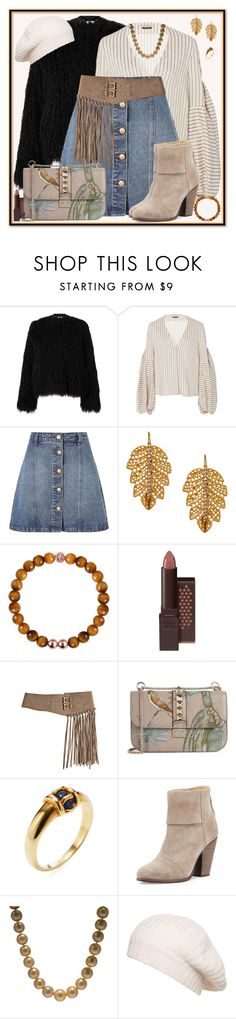 """She's Getting Younger Every Day"" by winscotthk ❤ liked on Polyvore featuring Samsøe & Samsøe, Hellessy, Anita & Green, Marika, Burt's Bees, Bergè, Valentino, Van Cleef & Arpels, rag & bone and Mexx"