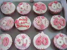 60th Birthday Cupcake Idea