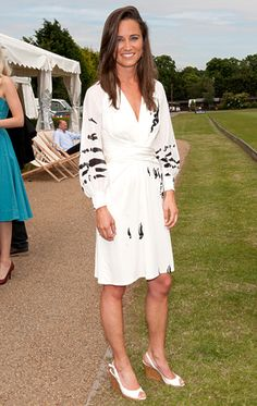 Pippa at a polo event