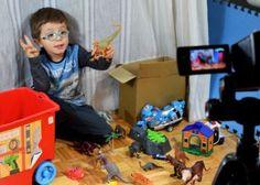 Youtubers de juguetes entre la diversión y la publicidad encubierta