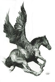 Pegasus by Julie Bell