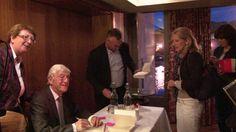 Michael Parkinson signing
