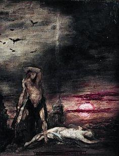 Gustave Moreau - Cain.