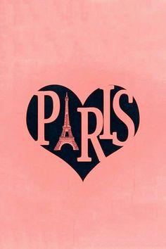 'Paris' France w/ Eiffel Tower Heart Text - Plywood Wood Print Poster Wall Art Paris Decor, Paris Art, Paris Theme, Paris Rooms, Paris Bedroom, Beautiful Paris, I Love Paris, Poster Wall, Poster Prints