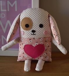 Ambrosial Make a Stuffed Animal Ideas. Fantasting Make a Stuffed Animal Ideas. Fabric Animals, Sock Animals, Fabric Crafts, Sewing Crafts, Sewing Projects, Sewing Pillows, Sewing Dolls, Animal Pillows, Stuffed Animal Patterns