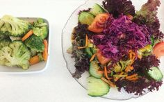 Continuing our new years' purpose: more #healthy #food 🙃 let's see how long it lasts 😅🤔 #mahlzeitkrones #salad #vegetables