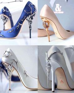 The Ralph & Russo Heels shoes Fancy Shoes, Pretty Shoes, Crazy Shoes, Beautiful Shoes, Cute Shoes, Me Too Shoes, Beautiful Gorgeous, Prom Shoes, Wedding Shoes