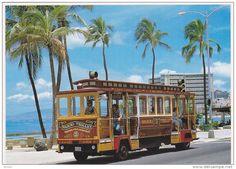 Waikiki Trolley, let's ride it all around town.