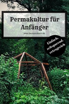 Permaculture for beginners - How to make the entrance easier .- Permakultur für Anfänger- So erleichterst du dir den Einstieg Make it easier for you to start permaculture! Here& a step by step guide on how to set up a quick bed. Hydroponic Gardening, Organic Gardening, Hydroponics, Organic Fertilizer, Urban Gardening, Herb Garden Design, Backyard Garden Design, Rustic Backyard, Garden Deco