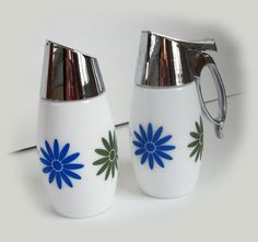 Hip Funky RETRO DAISY CORNING Ware Sugar and by vintagewarehouse, $23.00