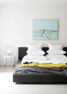 Chambre, Belle gamme de couleurs   bedroom
