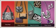 Grace Adele Fashion Purses and Jewelry!! Scentsy's newest brand to join the family! Buy, Host or Join! www.lboogie03.graceadele.us