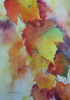 Ann Fullerton  #watercolor jd