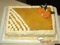 Torta jafa sa šlagom i Menaž čokoladom