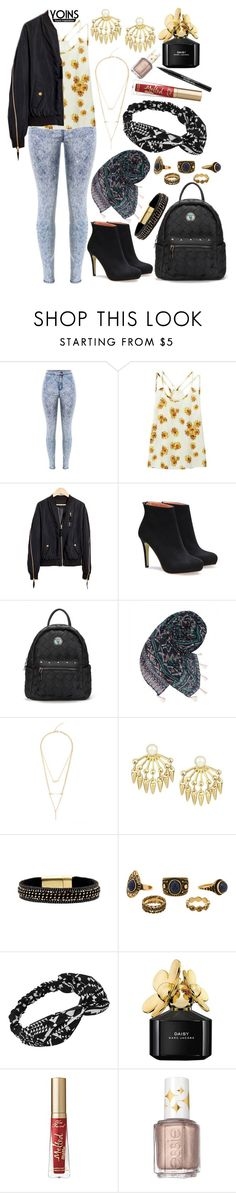 """""""YOINS"""" by deedee-pekarik ❤ liked on Polyvore featuring Marc Jacobs, Too Faced Cosmetics, Essie and Trish McEvoy"""