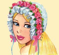 Girl with bonnett