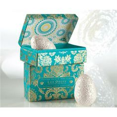White Pearlized Couture Egg Soaps | Gift Boxed | Gianna Rose Atelier