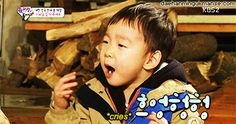 Daehan bit his finger while eating seaweed | The Return of Superman