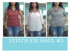 My 3rd @stitchfix haul video! Learn more about the personal styling service here: http://bit.ly/CraftyGeminiStitchFix
