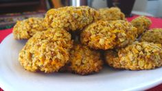 Galletitas de avena y zanahoria