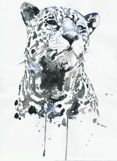 Items similar to Lilly Allen Fashion Cover, Fashion Aquarelle, Watercolour Fashion Illustration - Punk Fashion, Lilly Allen Harpers Bazar Russia on Etsy Leopard Tattoos, Snow Leopard Tattoo, Art And Illustration, Watercolor Illustration, Art Watercolor, Watercolor Fashion, Watercolor Animals, Big Cats Art, Cat Art
