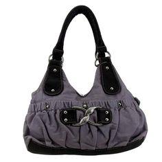 Lavendar Stonewashed Faux Leather Handbag Cocktail Purse Bag Vegan Rhinestone