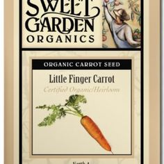 Little Finger Carrot  from The Scribbled Hollow for $2.89 on Square Market