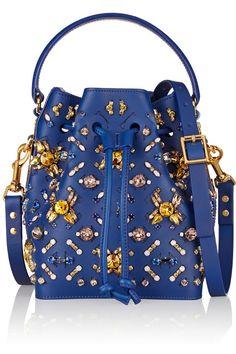 Sophie Hulme Embellished leather bucket bag $2,330