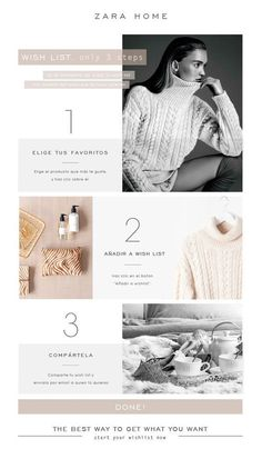 Zara Home (With images) Web Design Trends, E-mail Design, Fashion Web Design, Flat Design, Design Ideas, Website Design Inspiration, Website Design Layout, Layout Design, Zara Home
