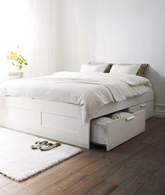 Inspira, inspira.  #decoração #quartos #camas #IKEAPortugal