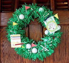another cute golf wreath