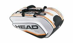 HEAD Djokovic Monstercombi Bag 2012 by HEAD. $89.95. Large racquet compartment with CCT+. Detachable wet bag. Monster Combi features a extra large main compartment for gear. A huge racket bag that has all the capacity to cater for serious matches. There is plenty of space for rackets, kit, accessories and shoes.Dimensions: 78 x 33 x 42cmFeatures:*Material: 90% Polyester/10% TPU*Compartments for 10-12 rackets, one with CCT+*Detachable, adjustable and discreet backpack straps ...