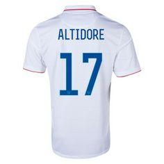 ALTIDORE 2014 World Cup Home Soccer Jerseys USA Football