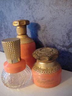 Avon Unforgettable Cologne Bottle | Set of 3 Vintage Avon Unforgettable Bottles by WintervilleWonders