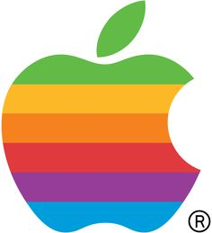 First official Apple logo from May 17, 1976 to August 26, 1999.