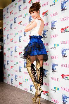一些攝影(some photos): Lin Chi-ling / Lin Chi ling 林志玲 Lin Chi Ling, Kate Beckinsale Pictures, Over The Knee Boots, Harajuku, Vogue, Beautiful, Girls, Photos, Style