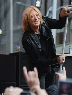 "Joe Elliott of Def Leppard performs during ""FOX & Friends"" All American Concert Series at FOX Studios on June 15, 2012 in New York."