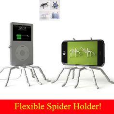 Universal aranha suporte do telefone móvel para o Iphone 6 mais Stent para Samsung S6 borda S5 suporte carro titular suporte titular de telefone celular