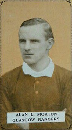 Alan Morton of Rangers in 1928.