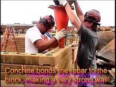 (28) Lego brick construction how to build house by using clay interlock brick - YouTube