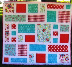 So Sweet - quick and easy pieced quilt PATTERN - Clare's Place