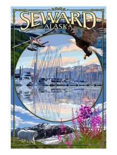 Seward, Alaska. One of my absolutely favorite towns in Alaska.