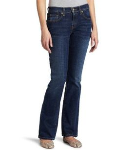 #9: Levi's 515 Misses Mid Rise Classic Boot Cut Jean.