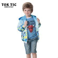 80700b8a6a06 TOK TIC children jackets boy cardigan BRAND jaqueta clothing windbreaker  for boy jacket to boy outerwear coats spring jacket kid