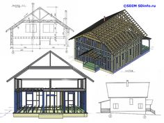 sdinfo.ru Cabin, House Styles, Projects, Home Decor, Log Projects, Cabins, Cottage, Interior Design, Home Interior Design