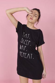 Eat, Sleep, Nap, Repeat - Comprar en Mahala