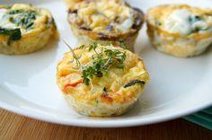 Hartige Muffins (leuk en lekker voor op de Paastafel)