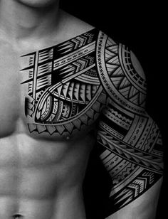 Tattoo Trends - Tattoos - unique Tattoo Trends – Tattoos -You can find Tattoos and more on our website. Ethnic Tattoo, Tribal Shoulder Tattoos, Tribal Tattoos For Men, Mens Shoulder Tattoo, Unique Tattoos, Tattoos For Guys, Tattoos For Women, Tattoo Women, Trible Tattoos