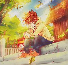"""""""I definitely won't let you die."""" KHR - Tsuna & Reborn"""